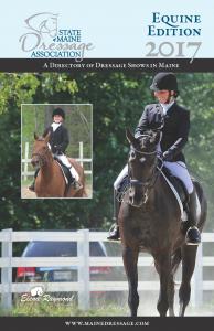 SMDA 2017 Equine Edition